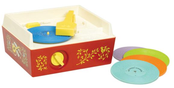 Fisher Price Music Box Record Player Minimalist Mama