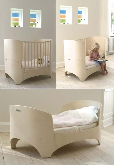 Leander Cradle Crib High Chair Changing Table